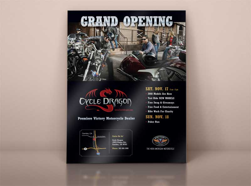 Print-Ad-Flyer-Design-Cycle-Dragon