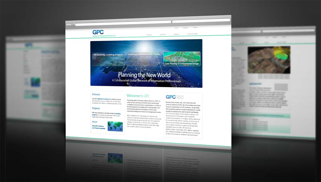 Extrêmement Web Design Mockups for GPC, Inc. - Robert Rusnak BM14