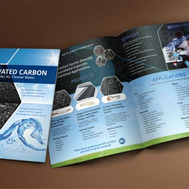 A Slick New Brochure Design for Carbon Resources