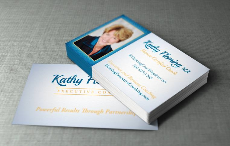 Branded Business Cards - Kathy Fleming