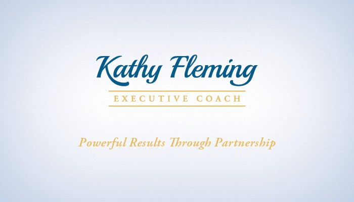 Logo Design for Kathy Fleming Executive Coaching