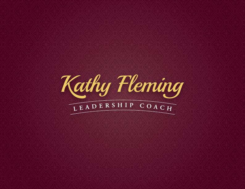 Alternative Branding and tagline for Kathy Fleming Executive Coach