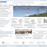Trango Home page, cira 2008