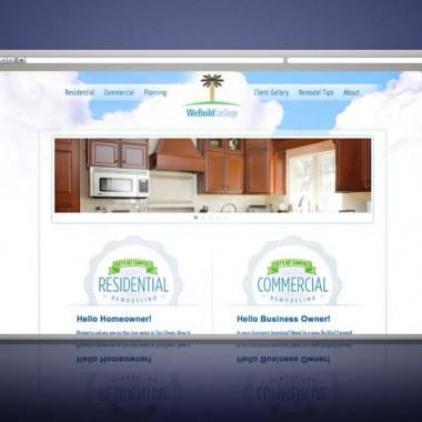 Website Development for We Build San Diego