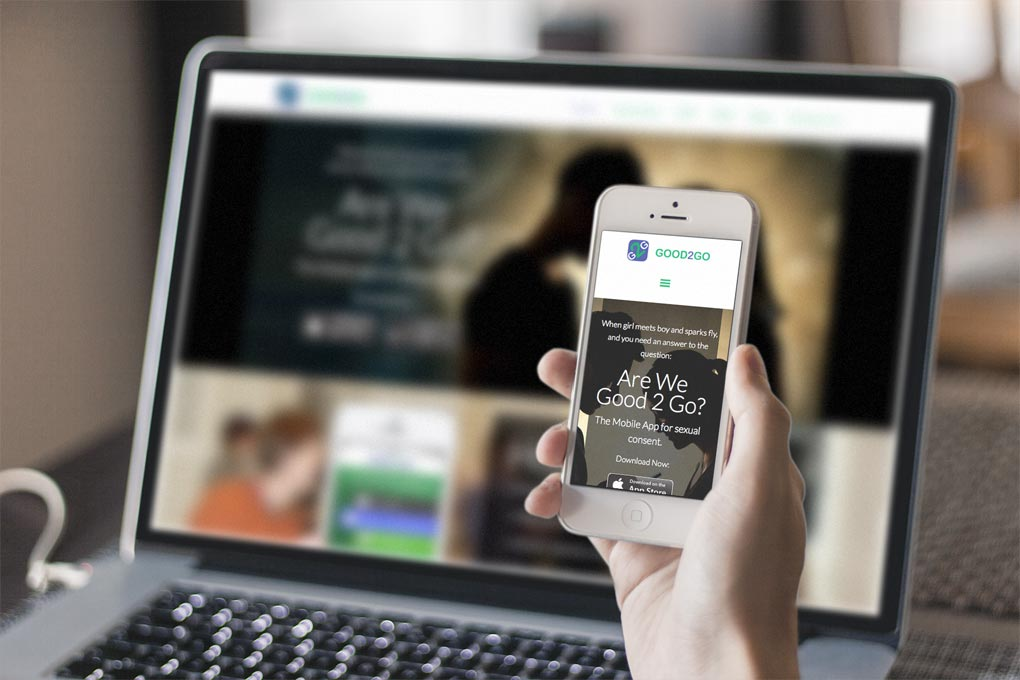 Website Design Mobile Friendly - Good2Go App