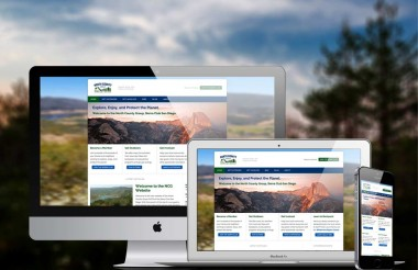 New Website Design for Local Nonprofit Sierra Club Group