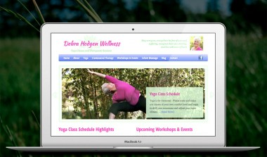 Debra Hodgen Website Design
