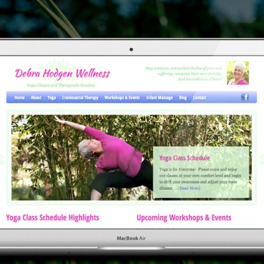 Web Design for Debra Hodgen Wellness