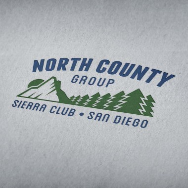 Logo Design for the Sierra Club San Diego group, North County Group