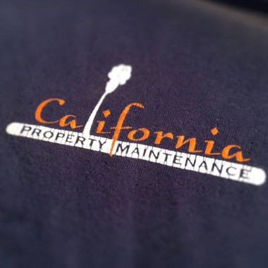 Logo Design for Calfornia Property Maintenance (Shirt Front)